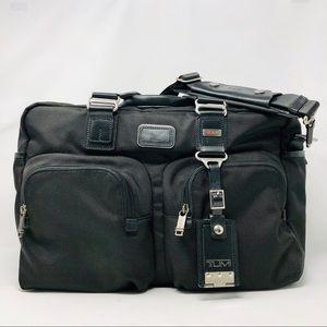 Tumi Alpha Bravo Everett Essential Tote Bag Black